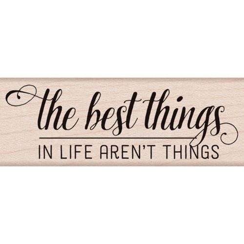 Hero Arts Rubber Stamp THE BEST THINGS BY LIA D6094 Lia Griffith Preview Image