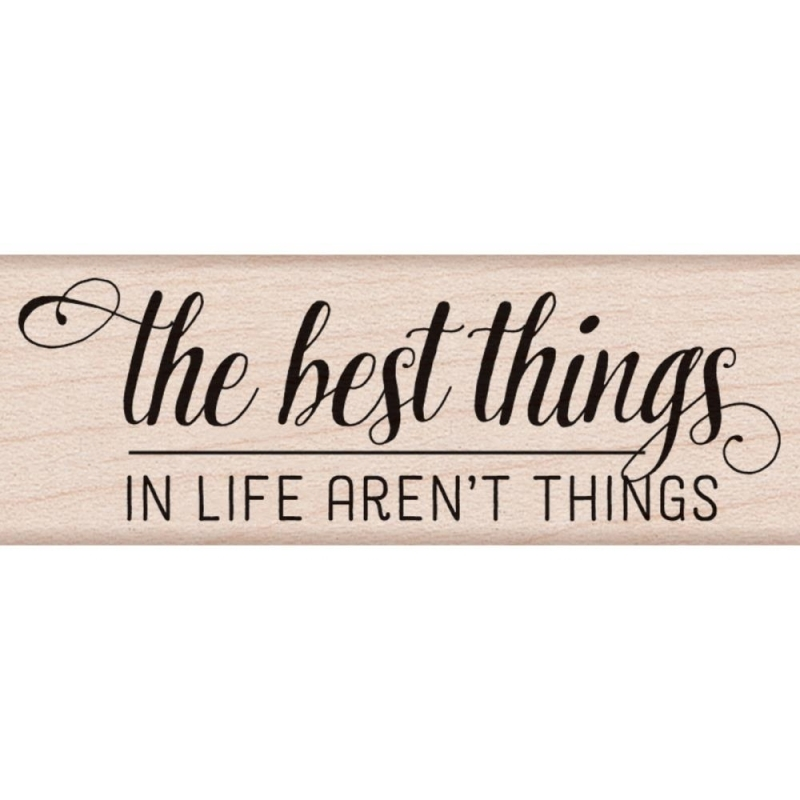 Hero Arts Rubber Stamp THE BEST THINGS BY LIA D6094 Lia Griffith zoom image