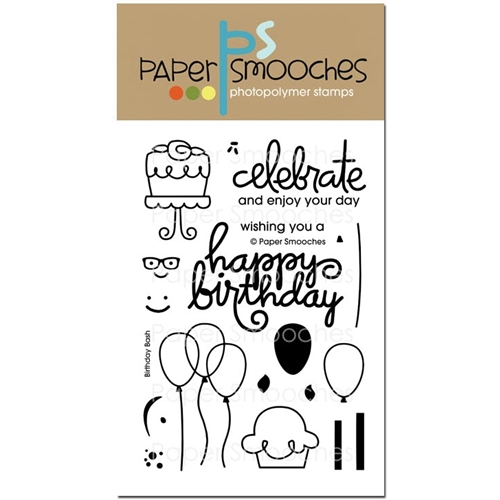 Paper Smooches BIRTHDAY BASH Clear Stamps M1S241 Preview Image