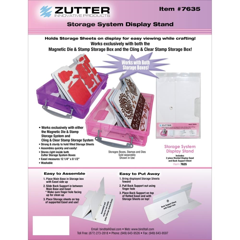 Zutter STORAGE SYSTEM DISPLAY STAND 7635 zoom image