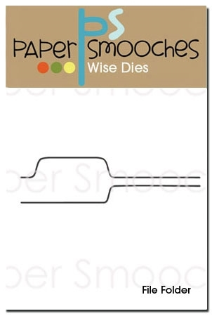Paper Smooches FILE FOLDER Wise Dies M1D221 Preview Image