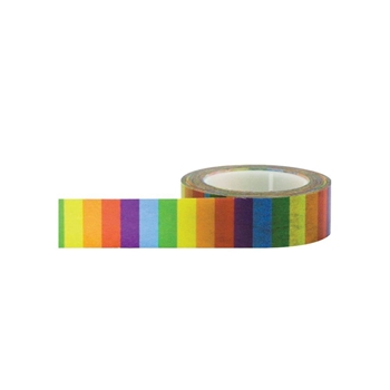 Little B RAINBOW Decorative Paper Tape 100050