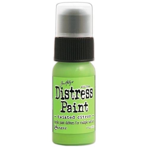 Tim Holtz Distress Paint TWISTED CITRON Ranger TDD43652 Preview Image