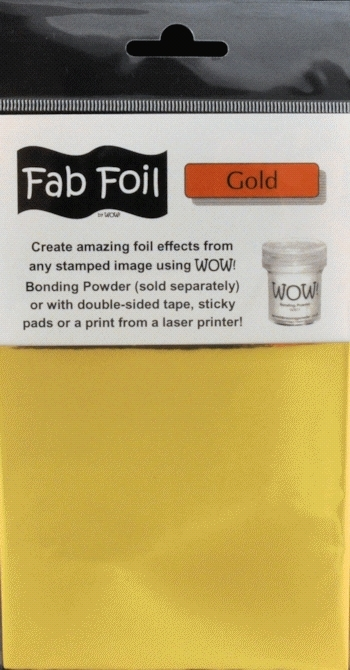 WOW Fab Foil BRIGHT GOLD W216-GLD01 zoom image
