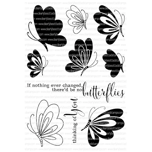 Clearly Besotted EVERYTHING CHANGES Clear Stamp Set*  Preview Image