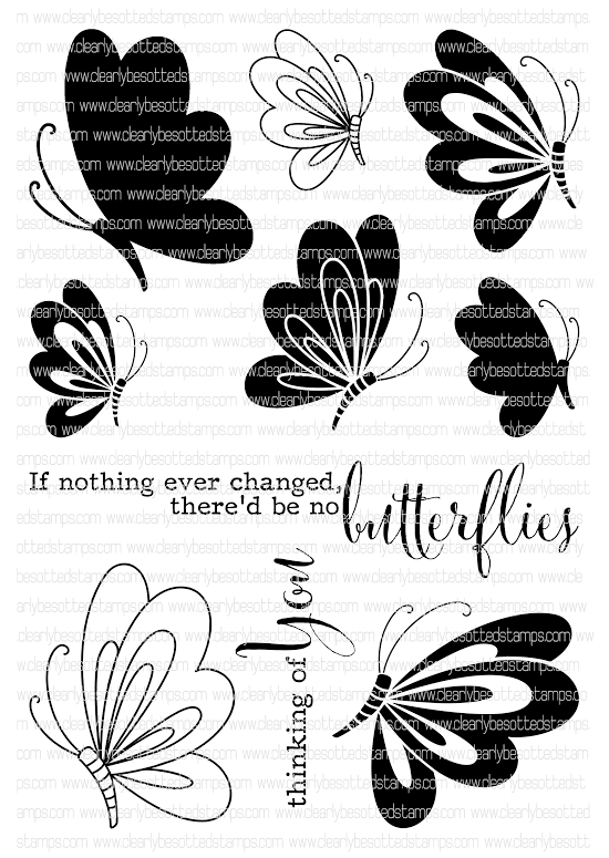 Clearly Besotted EVERYTHING CHANGES Clear Stamp Set*  zoom image