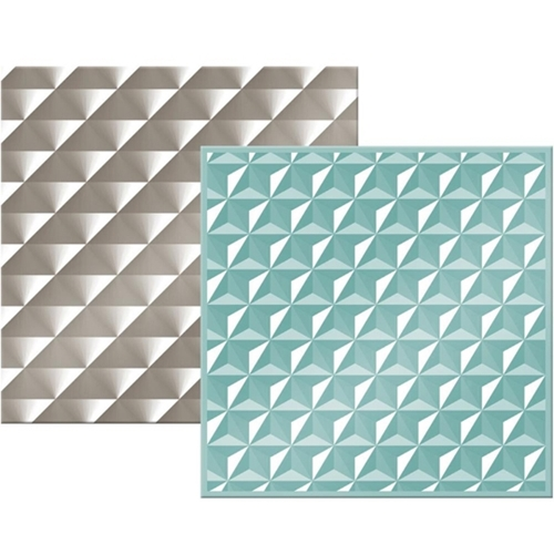 We R Memory Keepers GEOMETRIC Next Level Embossing Folders 662688 Preview Image