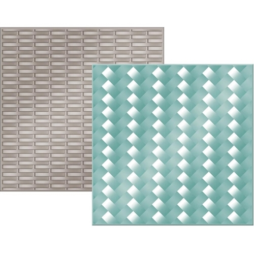 We R Memory Keepers WOVEN Next Level Embossing Folders 662691 Preview Image
