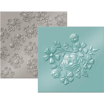 We R Memory Keepers BOUQUET Next Level Embossing Folders 662692