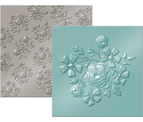 We R Memory Keepers BOUQUET Next Level Embossing Folders 662692 zoom image