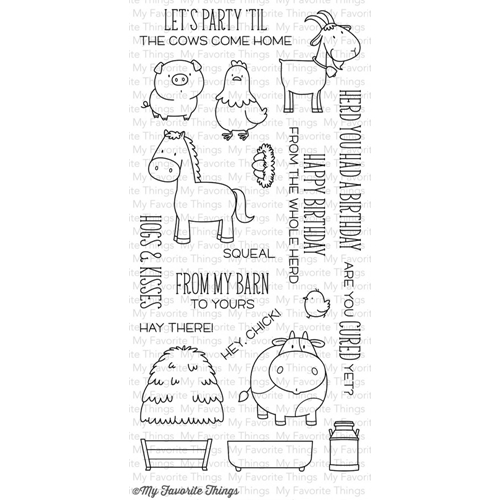 My Favorite Things The Whole Herd Stamp Set