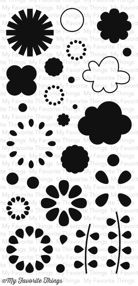 My Favorite Things BUILDABLE BLOOMS Clear Stamps MSTN9* zoom image
