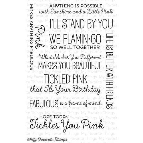 My Favorite Things TICKLED PINK Clear Stamps LLD44 Preview Image