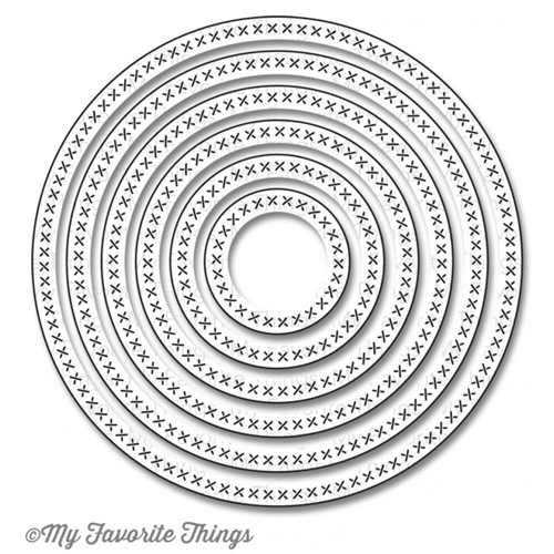 My Favorite Things CROSS STITCH CIRCLE STAX Die-Namics MFT650 Preview Image