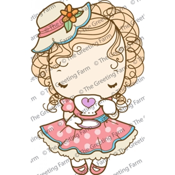 The Greeting Farm CLASSY Cling Rubber Stamp TGF201