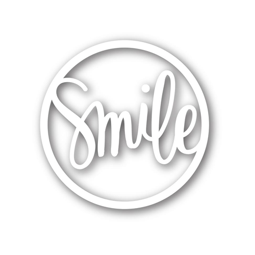 Simon Says Stamp SMILE CIRCLE Wafer Thin Die sssd111480 Preview Image