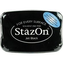 Stazon Black Ink Pad