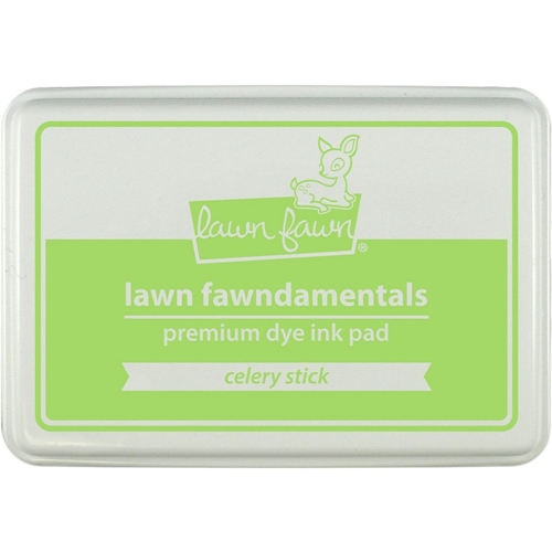 Lawn Fawn CELERY STICK Premium Dye Ink Pad Fawndamentals LF929 Preview Image