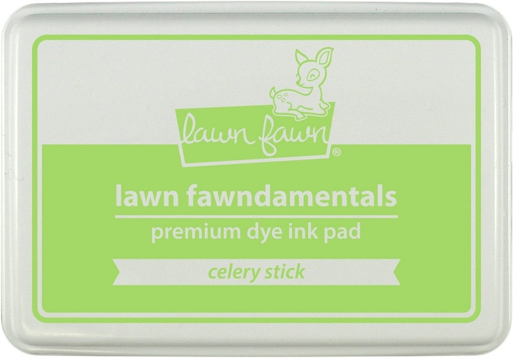 Lawn Fawn CELERY STICK Premium Dye Ink Pad Fawndamentals LF929 zoom image