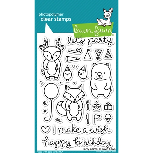Lawn Fawn PARTY ANIMAL Clear Stamps LF893 Preview Image