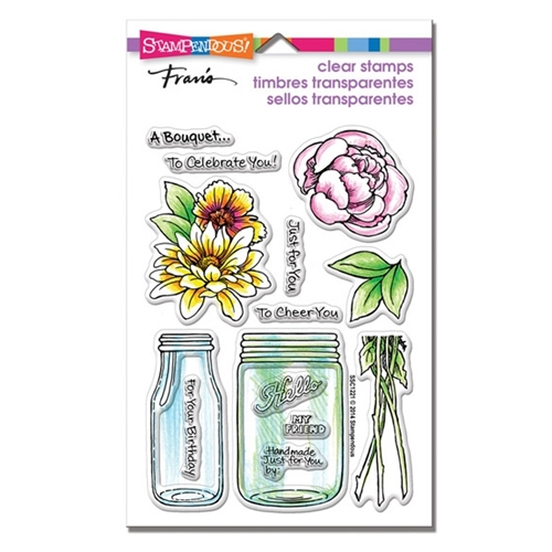 Stampendous Clear Stamps BOUQUET FOR YOU SSC1221 Preview Image