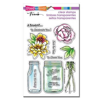 Stampendous Clear Stamps BOUQUET FOR YOU SSC1221