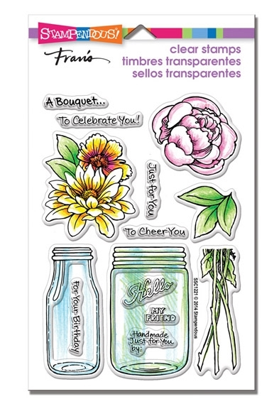 Stampendous Clear Stamps BOUQUET FOR YOU SSC1221 zoom image