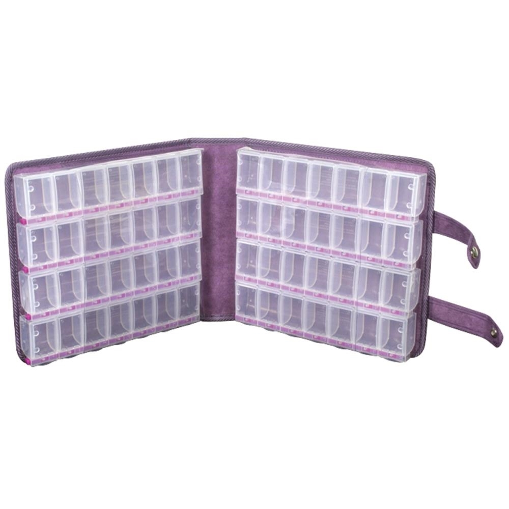 Craft Mates LARGE STORAGE CASE Lockables 56 Compartment zoom image