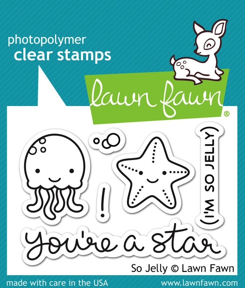 Lawn Fawn SO JELLY Clear Stamps LF899 zoom image