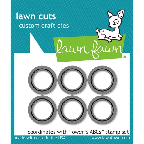 Lawn Fawn OWEN'S ABCs Lawn Cuts Dies LF902 Preview Image