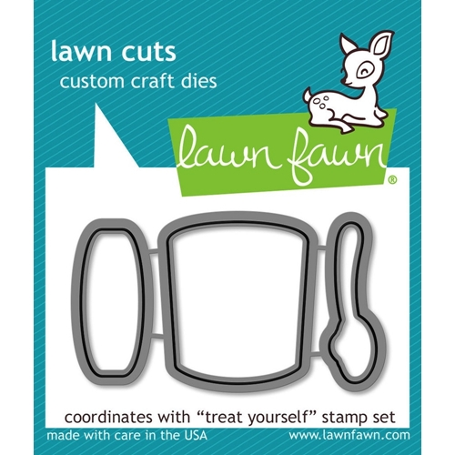 Lawn Fawn TREAT YOURSELF Lawn Cuts Dies LF898 Preview Image