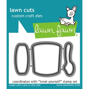 Lawn Fawn TREAT YOURSELF Lawn Cuts Dies LF898