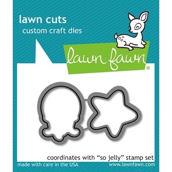 Lawn Fawn SO JELLY Lawn Cuts Dies LF900