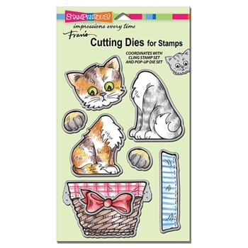 Stampendous POP UP KITTIES DIE CUT SET DCS5075
