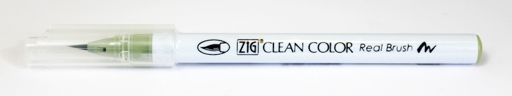 Zig Clean Color Real Brush Marker PALE DAWN GRAY RB6000AT098 zoom image