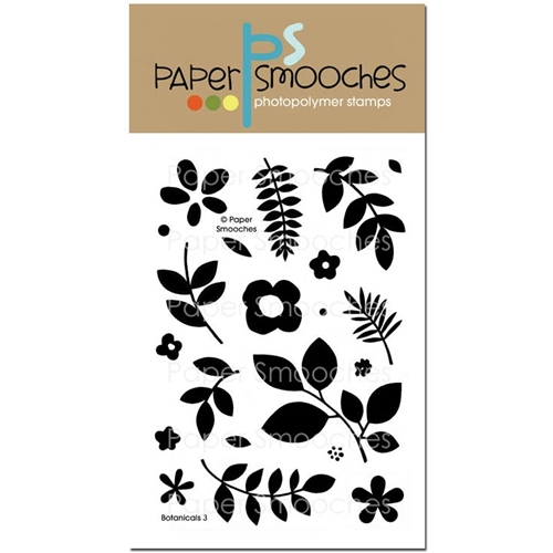 Paper Smooches BOTANICALS 3 Clear Stamps J2S243 Preview Image