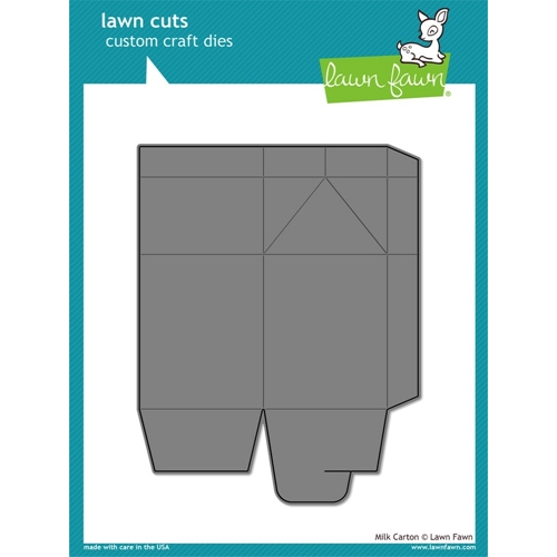 Lawn Fawn MILK CARTON Lawn Cuts LF917 Preview Image