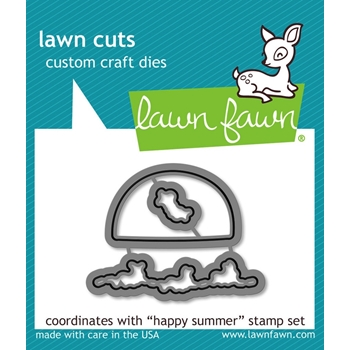 Lawn Fawn HAPPY SUMMER Lawn Cuts LF904