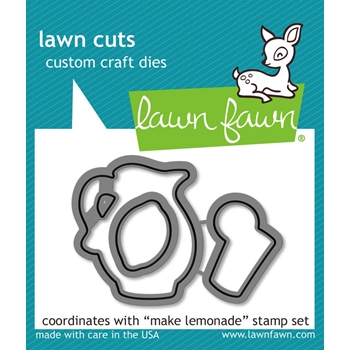 Lawn Fawn MAKE LEMONADE Lawn Cuts LF905