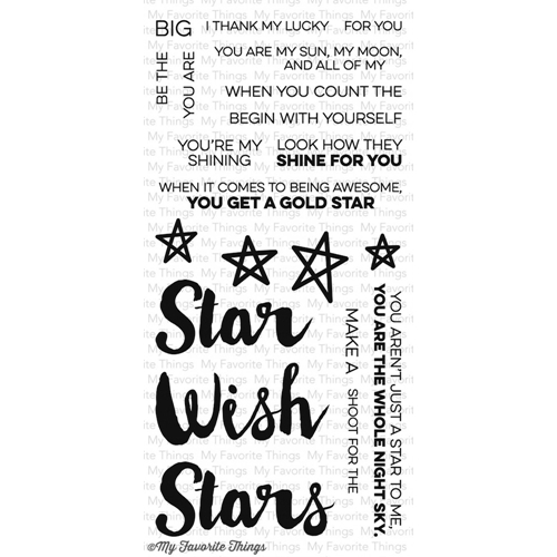 My Favorite Things COUNT THE STARS Clear Stamps MFT LLD45 Preview Image
