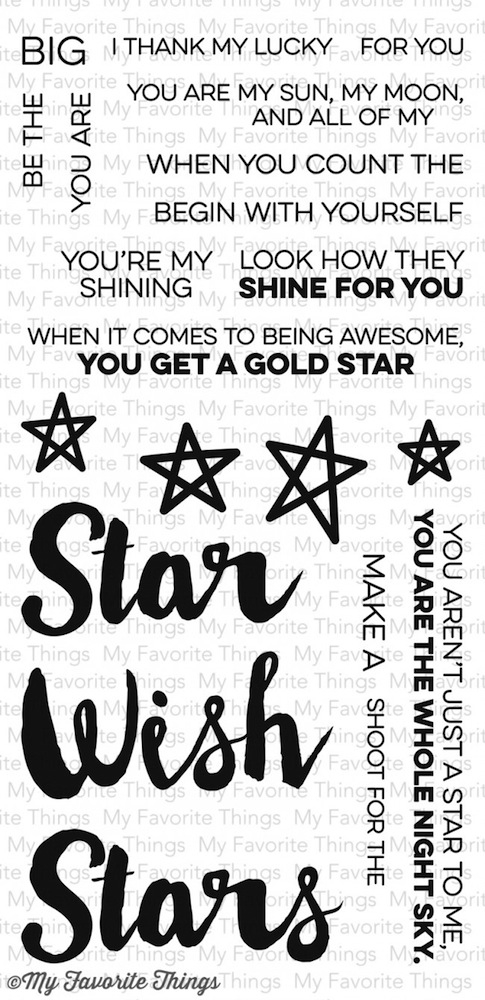 My Favorite Things COUNT THE STARS Clear Stamps MFT LLD45 zoom image