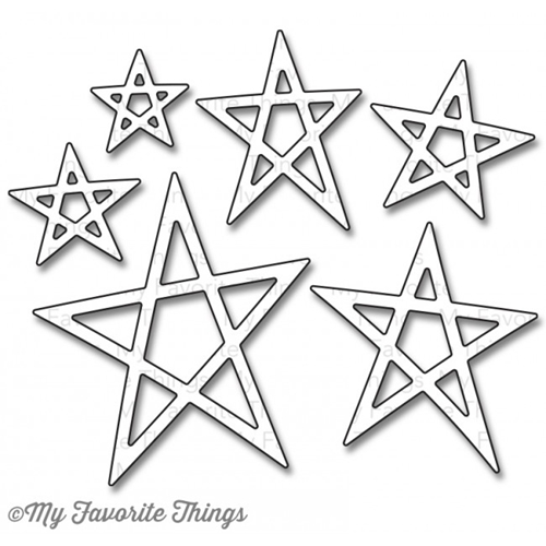 My Favorite Things LUCKY STARS DIe-Namics MFT698* Preview Image