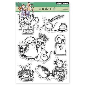 Penny Black Clear Stamps U R THE GIFT 30-306* Preview Image