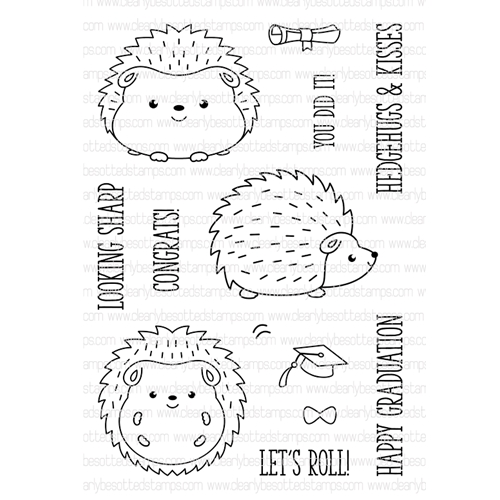 Clearly Besotted LETS ROLL Clear Stamp Set  Preview Image