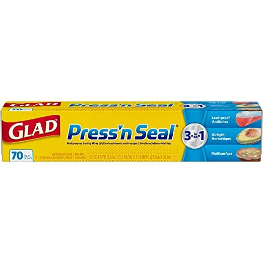 Glad PRESS'N SEAL Multipupose Sealing Wrap 70441 zoom image