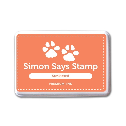 Simon Says Stamp Premium Dye Ink Pad SUNKIST ink041 The Color of Fun Preview Image