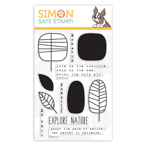 Simon Says Clear Stamps ONE WITH NATURE sss101509 Preview Image