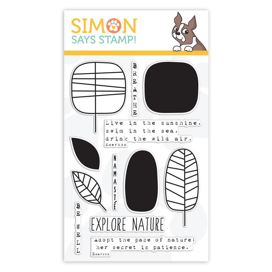 Simon Says Clear Stamps ONE WITH NATURE sss101509 zoom image