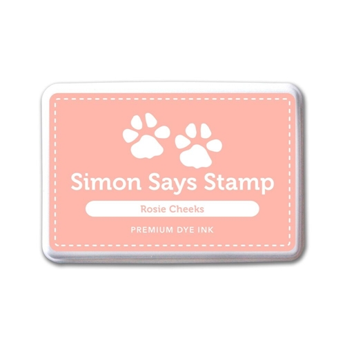 Simon Says Stamp Premium Dye Ink Pad ROSIE CHEEKS ink046 The Color of Fun Preview Image
