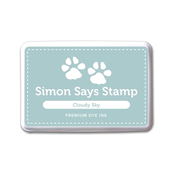 Simon Says Stamp Premium Dye Ink Pad CLOUDY SKY ink047 The Color of Fun